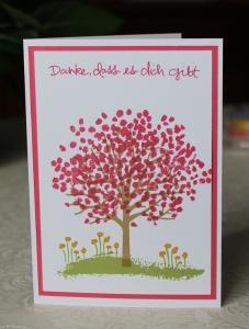 Baum der Freundschaft Stampin´ Up!