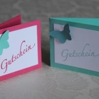 Mini-Gutschein Stampin Up