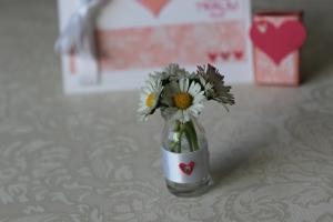 Mini Vase Hochzeit Stampin Up