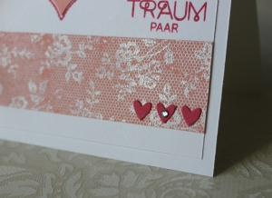 Karte Hochzeit Stampin Up