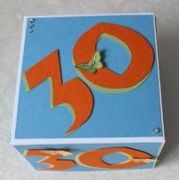 Box zum 30. Geburtstag Stampin Up