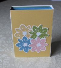 Gutscheinbox Stampin Up