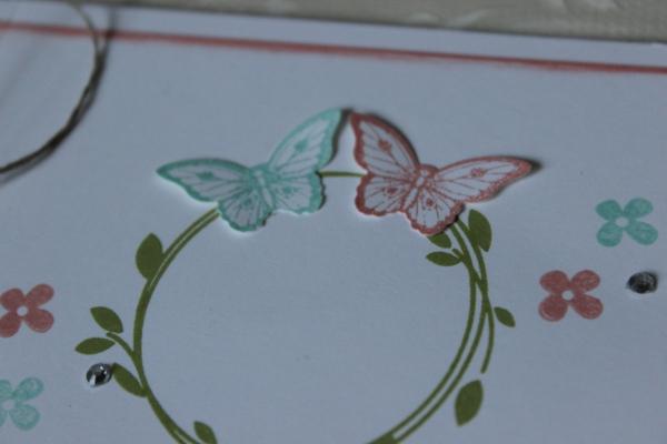 Hochzeitseinladung Vintage Stampin Up