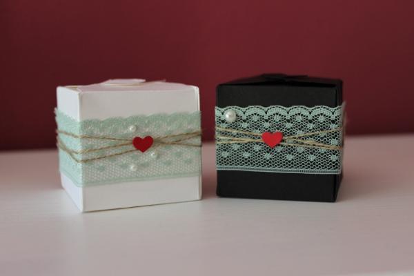 Stampin Up Hochzeit Gastgeschenk Verpackung Schachtel