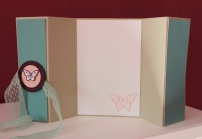 Z Fold Card Stampin Up Grußkarte
