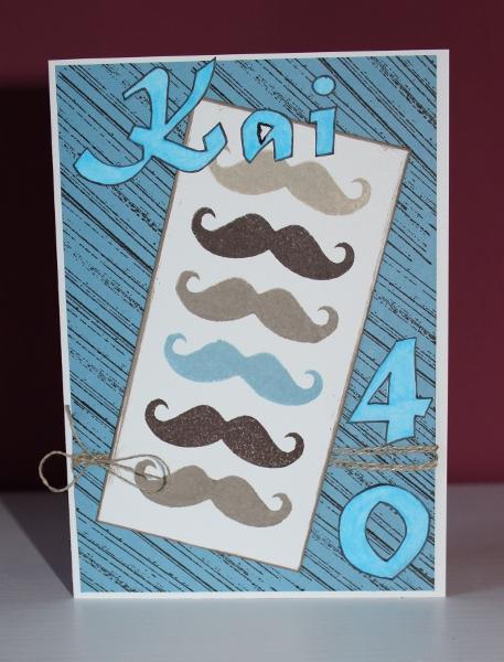 Männerkarte Stampin Up Karte Mann