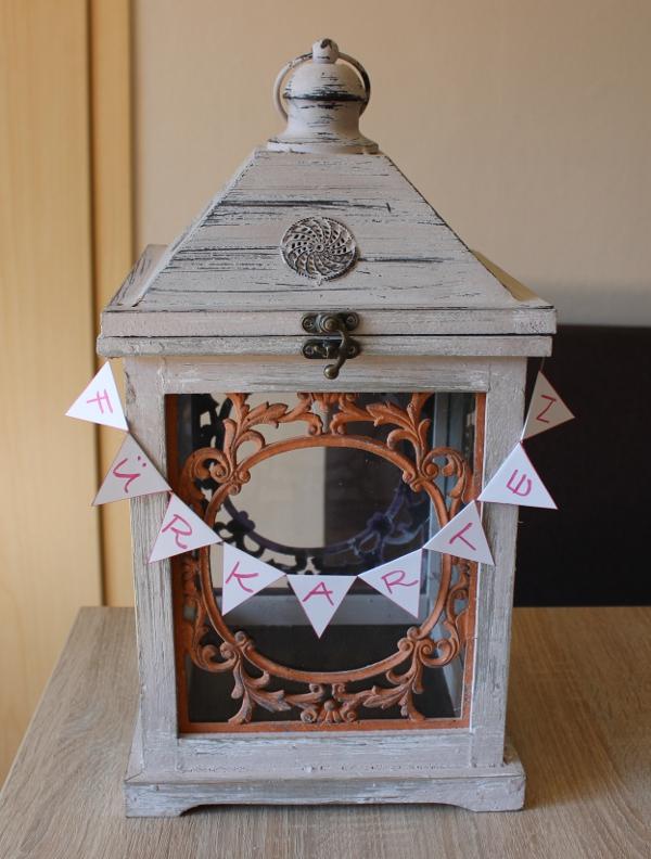 Kartenbox Hochzeit Girlande Aufbewahrung Karten Stampin Up
