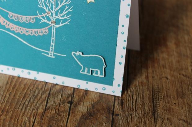 Weihnachtskarte Stampin Up Christmas Weihnachten Embossing