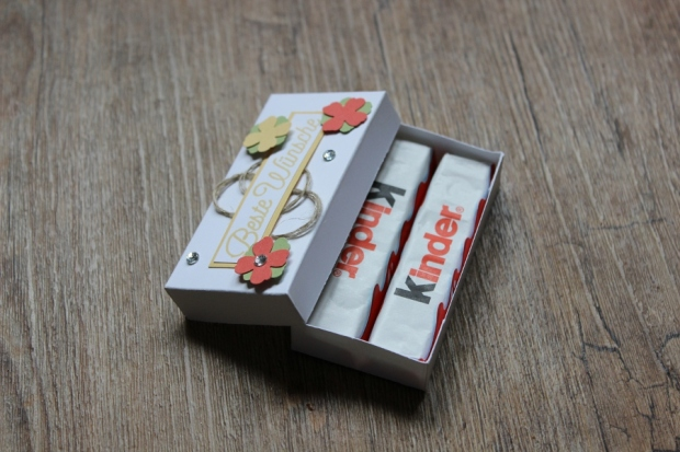Verpackung Schachtel Kinderriegel Stampin Up
