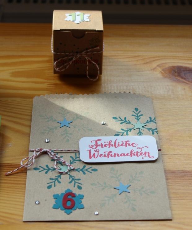 Weihnachtsworkshop Adventskalender Stampin Up