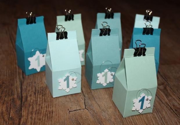 Weihnachtsworkshop Adventskalender Stampin Up Gastgeschenk