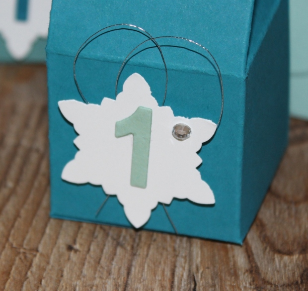 Weihnachtsworkshop Adventskalender Stampin Up Gastgeschenk