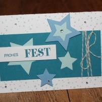 Workshop Weihnachtskarten Stampin Up