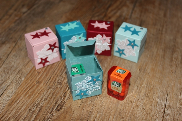 mini Tic Tac Verpackung Stampin Up