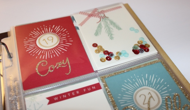 December Daily Dezembertagebuch Projeckt Life Stampin Up