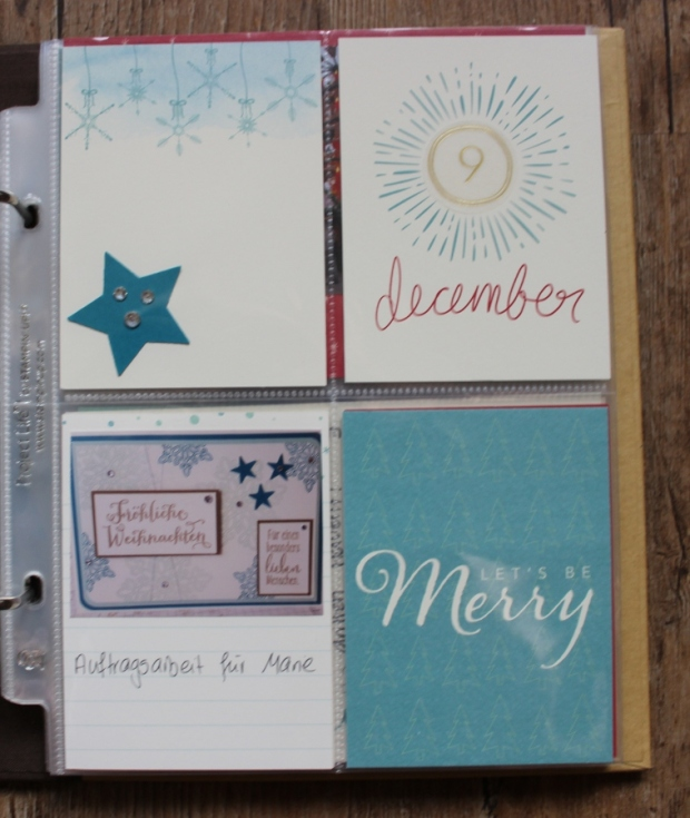 Project Life December Daily Stampin Up