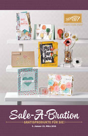 Sale-A-Bration 2016 Stampin Up