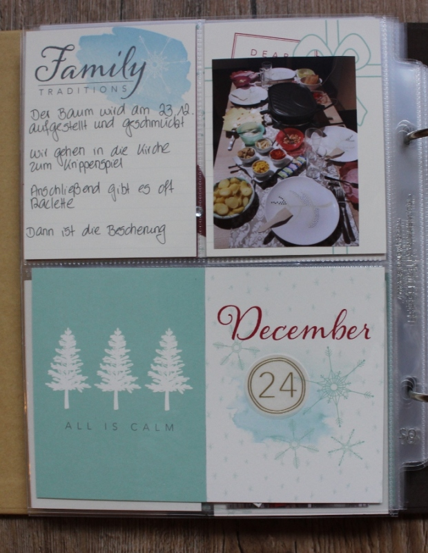 December Daily Project Life Stampin UP (1)