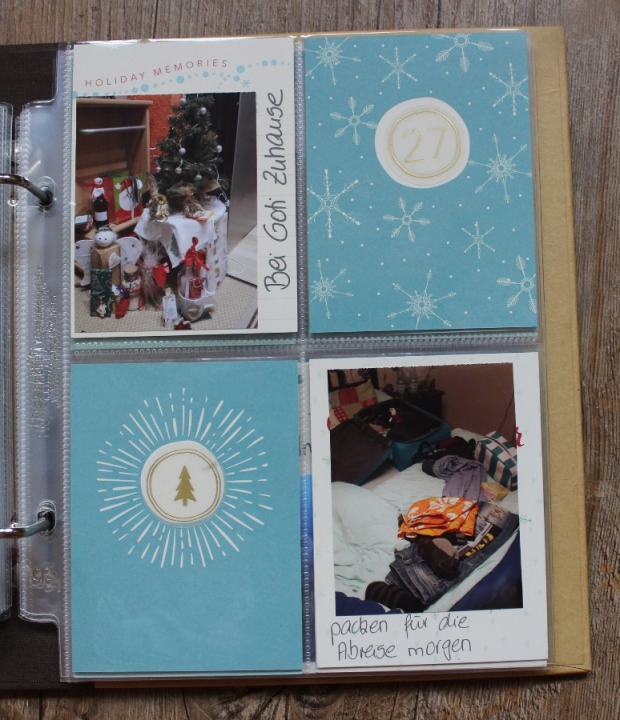 December Daily Project Life Stampin UP (11)