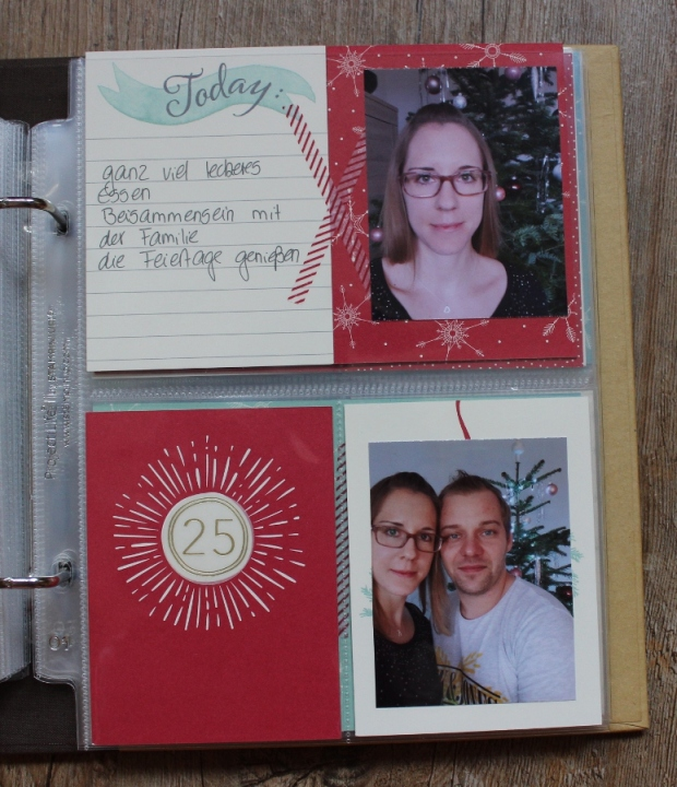 December Daily Project Life Stampin UP (13)