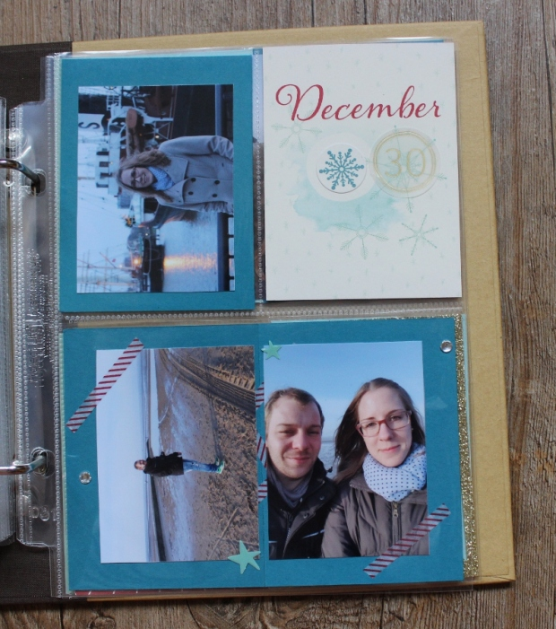 December Daily Project Life Stampin UP (7)