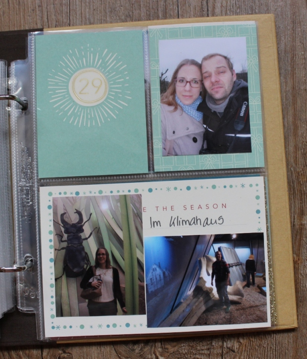 December Daily Project Life Stampin UP (9)