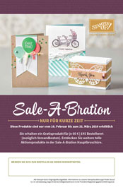 Sale A Bration 2016 Stampin Up