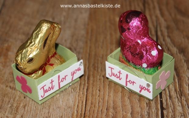Gastgeschenk Ostern Frühjahr Stampin Up Körbchen
