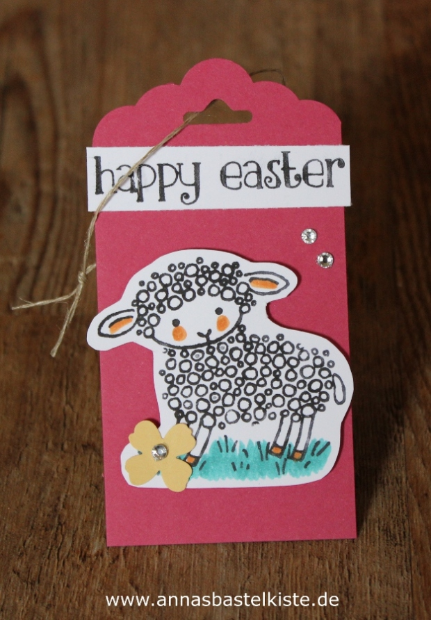 Geschenkanhänger Frühjahr Ostern Stampin Up