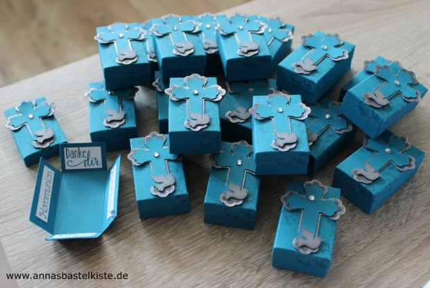 Gastgeschenke Kommunion Konfirmation Stampin Up