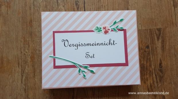 Vergissmeinnicht-Set Abschied Kolleginnen Stampin´ Up!