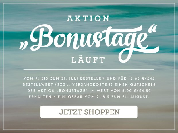 Aktion Bonustage Stampin Up