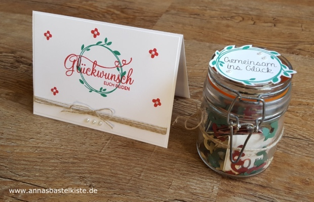 Set zur Hochzeit wedding Perfekter Tag Stampin Up
