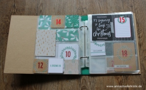 Project Life December Daily 2017 Stampin Up