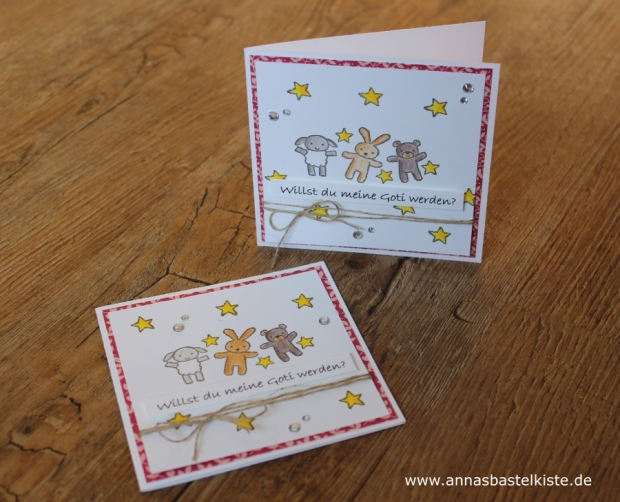 Goti Patentante Taufe Baby Stampin Up