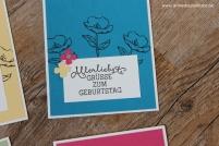Geburtstagskarte birthday card Stampin Up