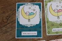 Karte zur Geburt zum Nachwuchs card baby Stampin Up